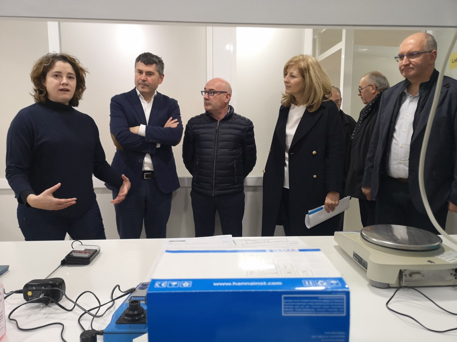 Ovidio Rodeiro visitou as instalacións da panificadora Dubraseda S.L.
