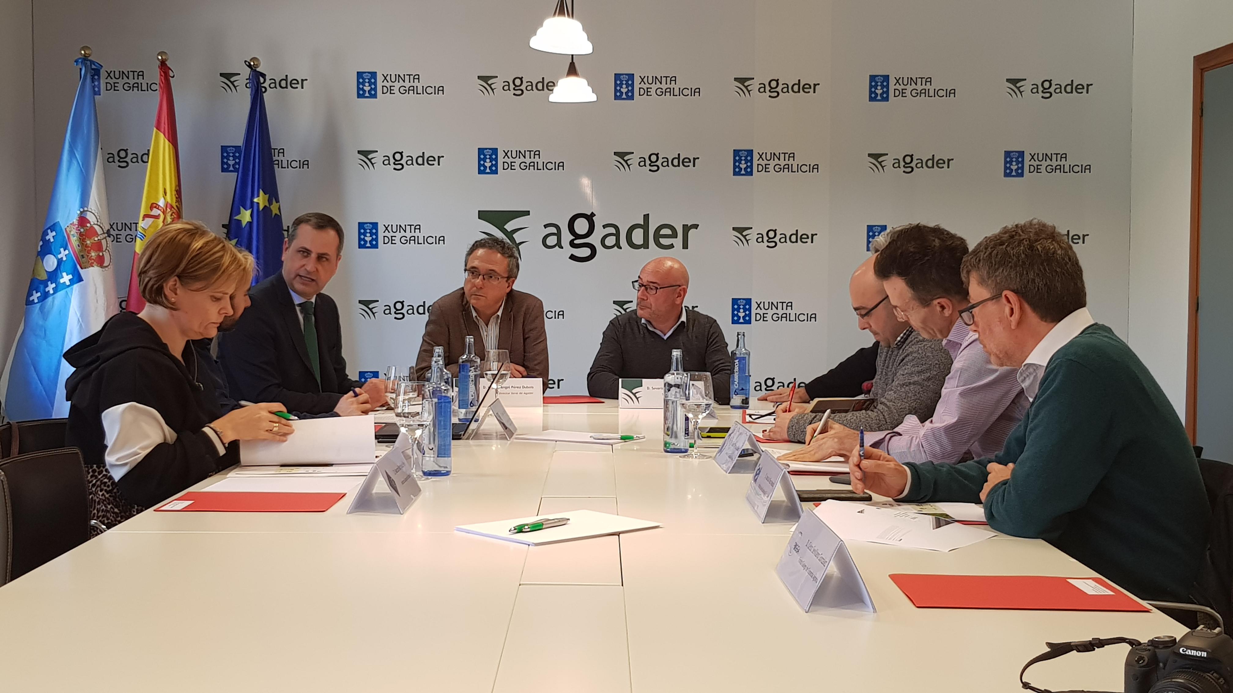 Reunión do Observatorio Mobilidade e Mercado da Terra en Galicia