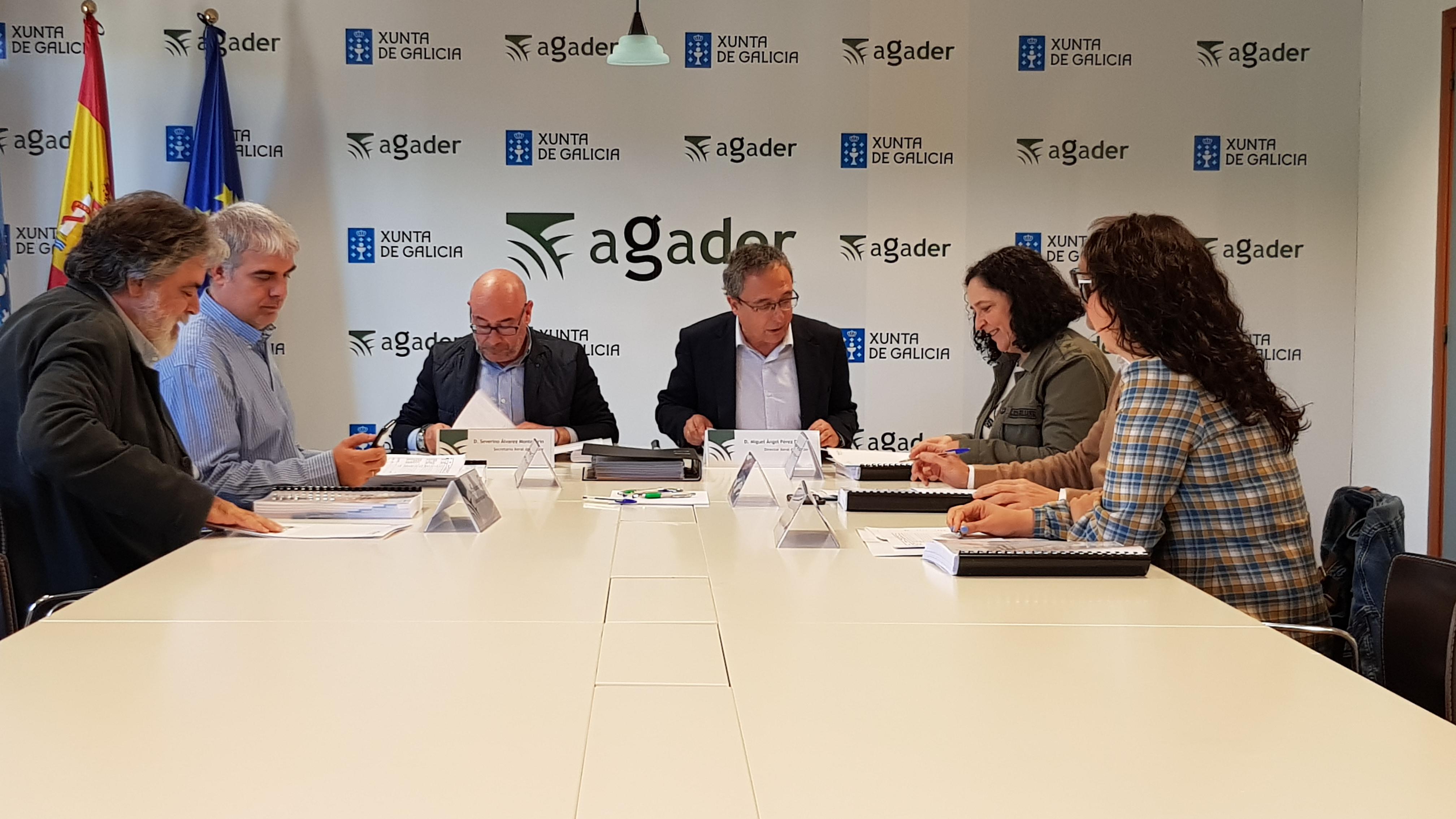 Reunión do xurado dos premios Agader