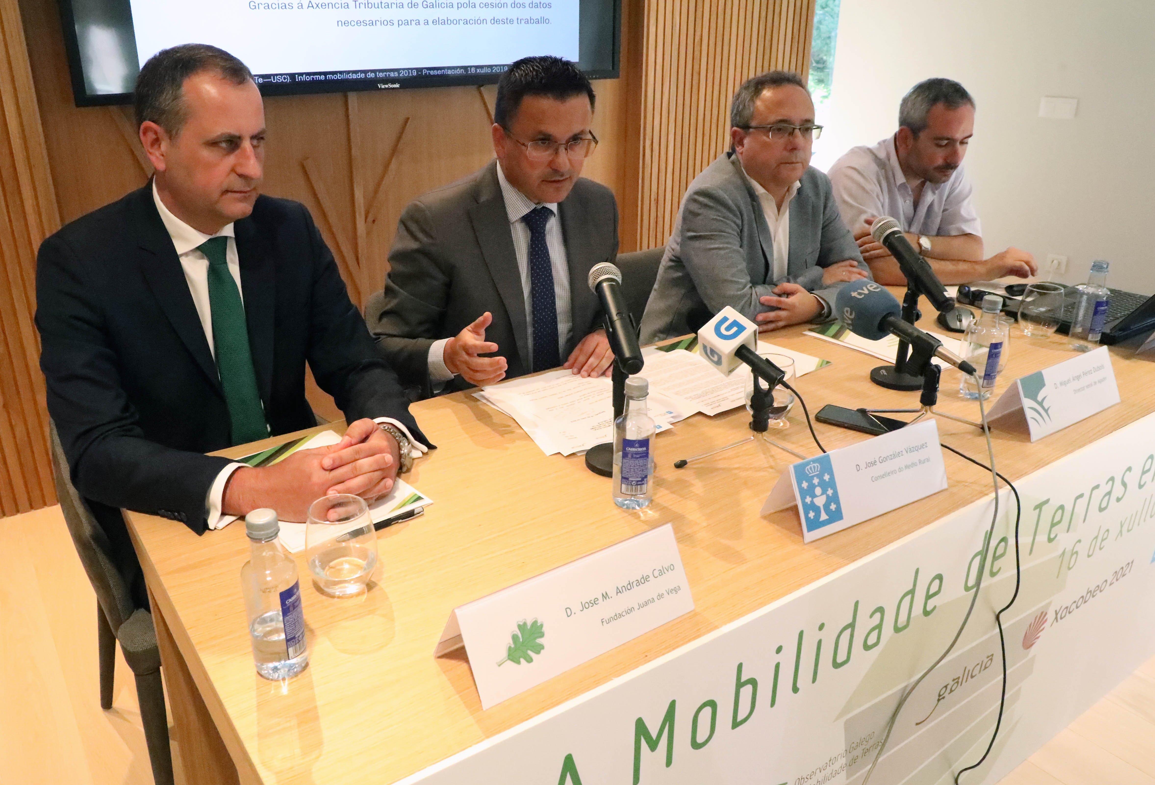 Presentación do informe anual sobre prezos e mobilidade da terra rústica