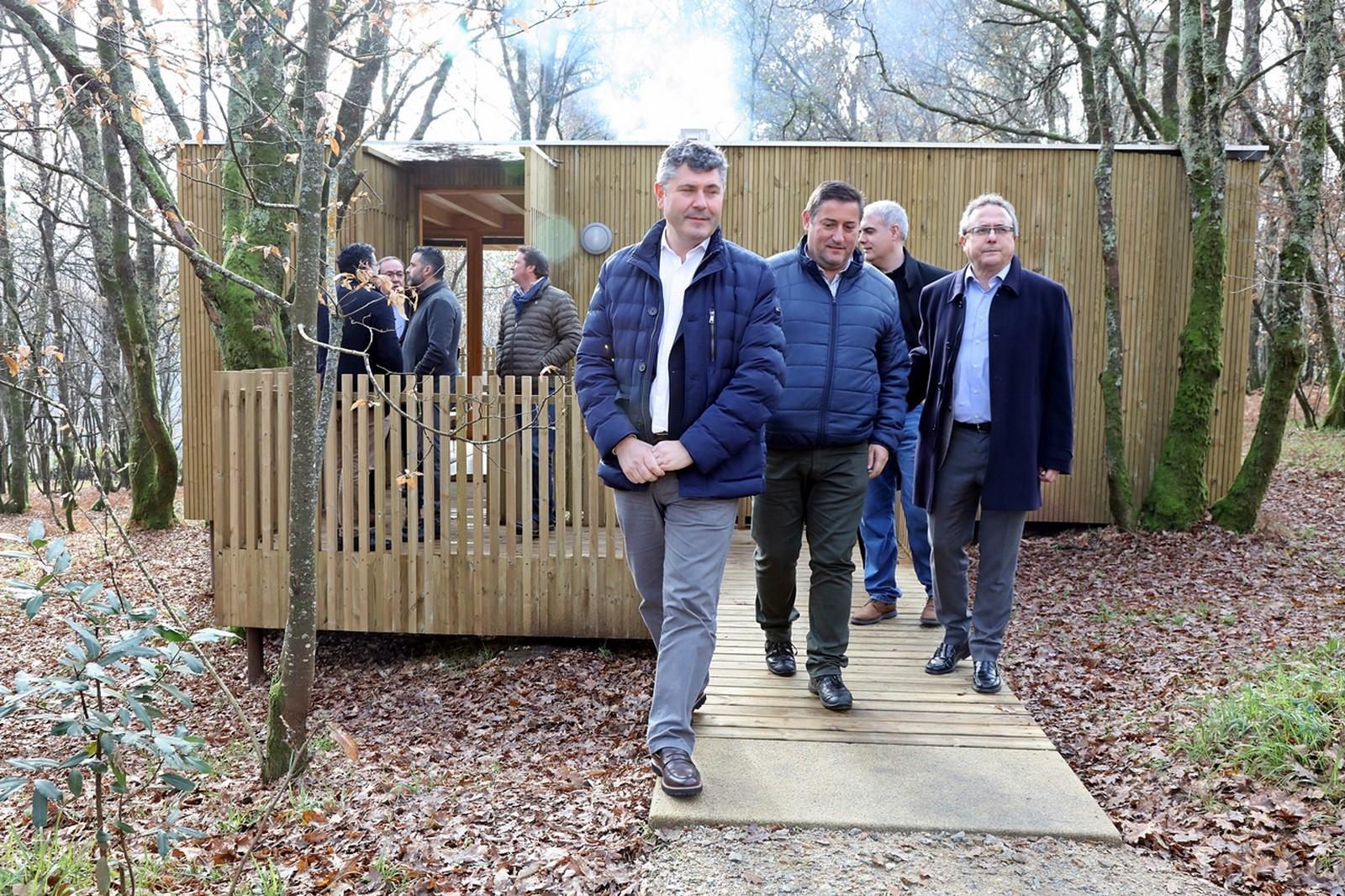 La Xunta destinó más de 175.000 euros a la construcción de un complejo de turismo enológico en Boqueixón