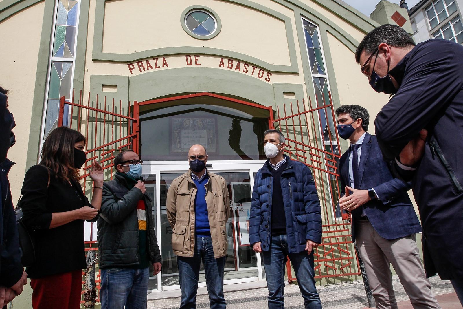 A Xunta inviste case 39.000 euros na rehabilitación e reforma da praza de abastos de Ribadeo
