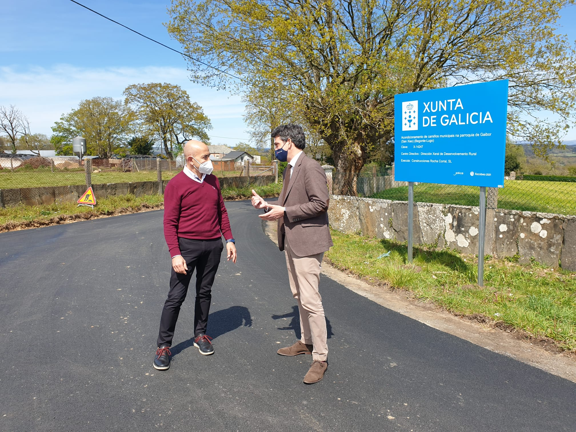 A Xunta acondiciona seis quilómetros de camiños en Begonte cun investimento de case 165.000 euros