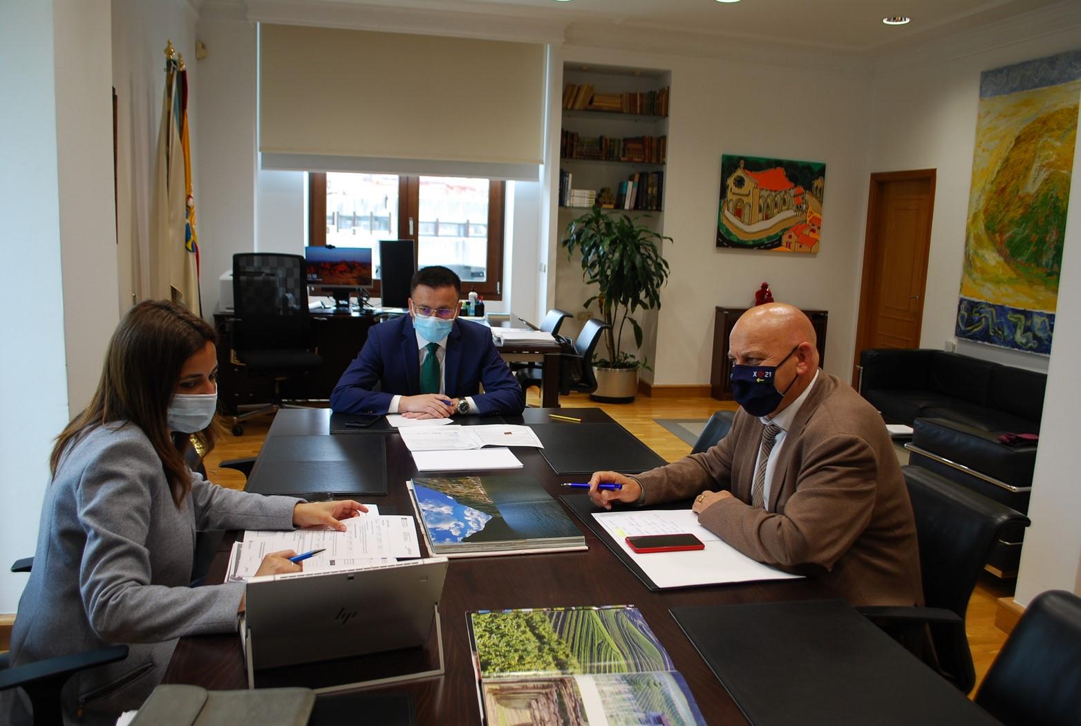 A Xunta rematará o vindeiro ano catro parcelarias en Cartelle que reorganizarán 4.000 hectáreas de 3.700 propietarios