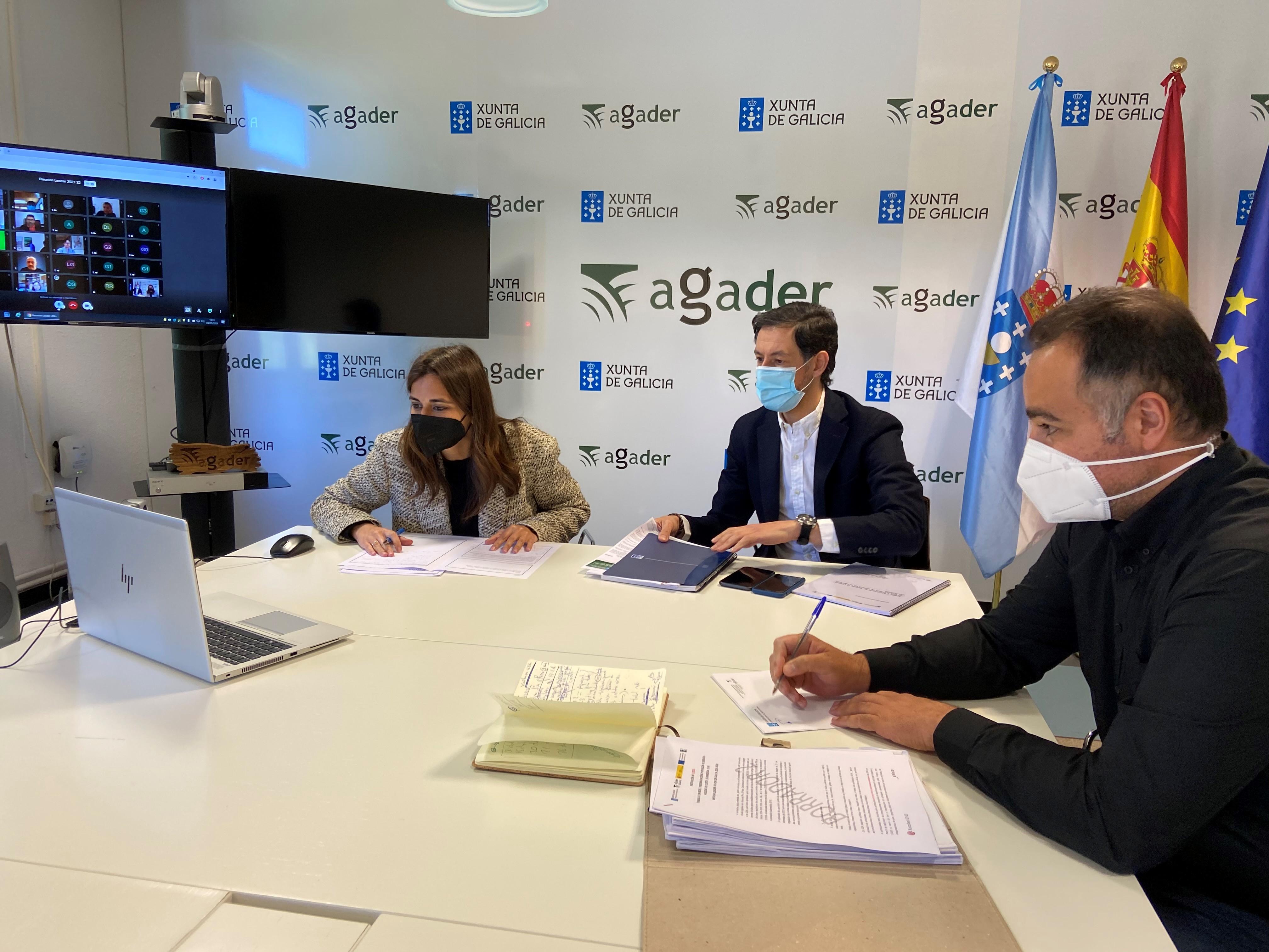 A Xunta convoca as axudas do Plan Leader cun orzamento de 13 millóns de euros para 2021 e 2022 co fin de dinamizar o agro galego a través dos 24 grupos de desenvolvemento rural