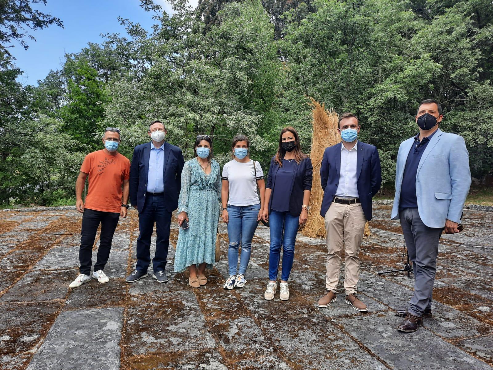 A Xunta inaugura en Lobios o Ecomuseo do Pan do Xurés, que se beneficiou dunha axuda Leader de 30.000 euros