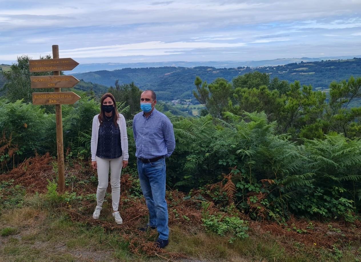 A Xunta e o Concello do Incio estudan novas actuacións na contorna da aldea modelo de Trascastro