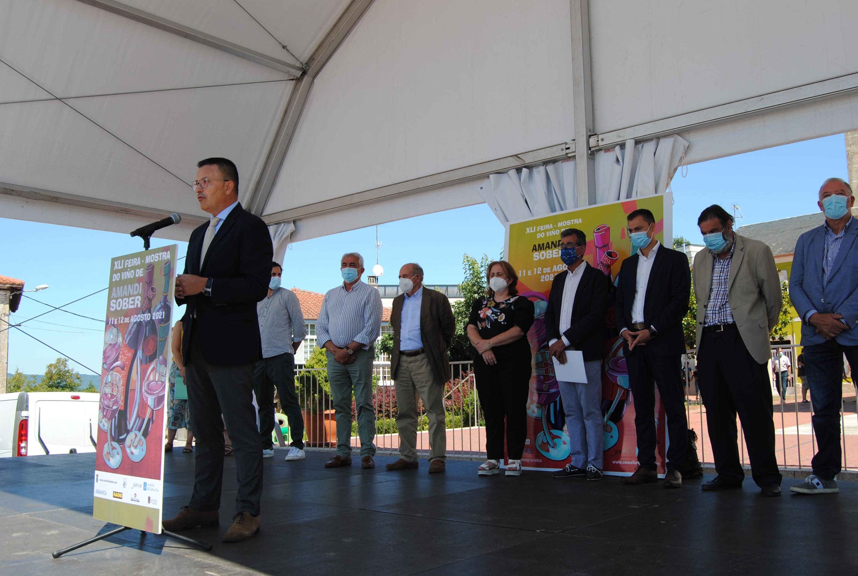 A Xunta destaca que Ribeira Sacra reúne máis da metade da superficie demandada polas denominacións de orixe vitivinícolas para polígonos de viñedo