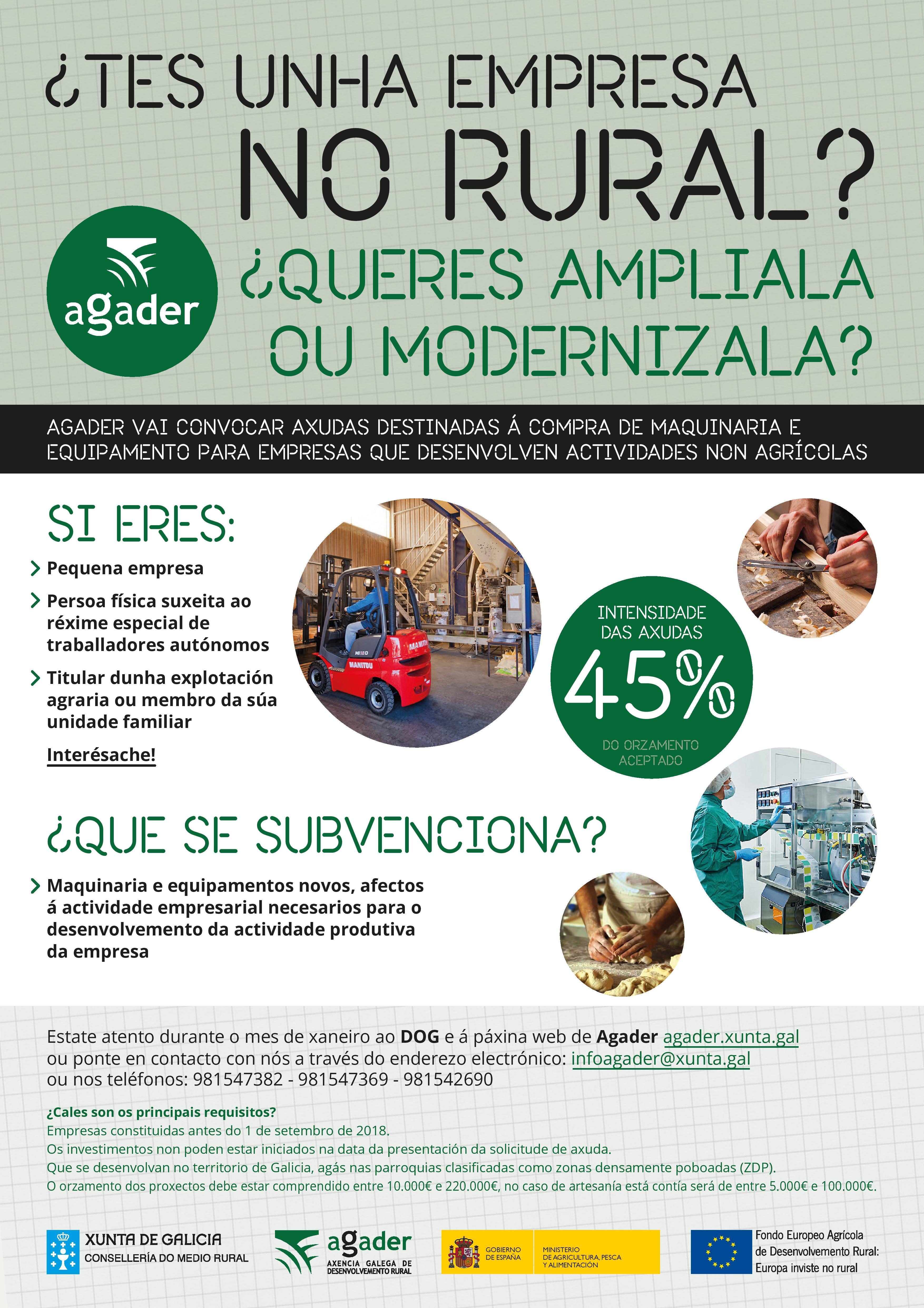 Axudas empresas non agrícolas