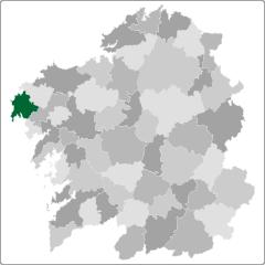 Comarca de Fisterra en Galicia