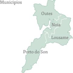Municipios de la Comarca de Noia