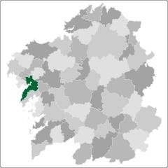 Comarca de Noia en Galicia