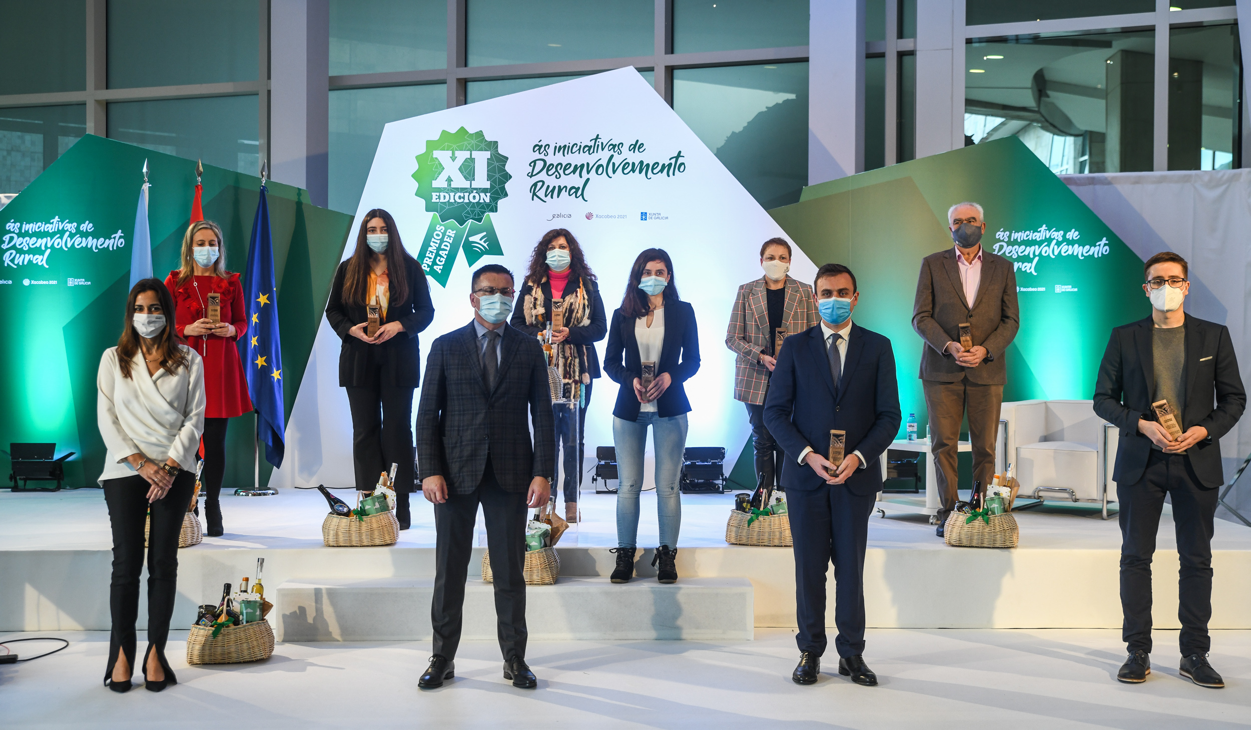 Acto de entrega da XI Edición dos Premios Agader